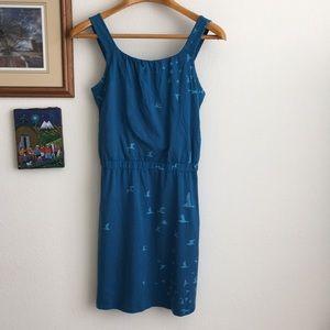 Toad&Co Organic Blue Dress Size M